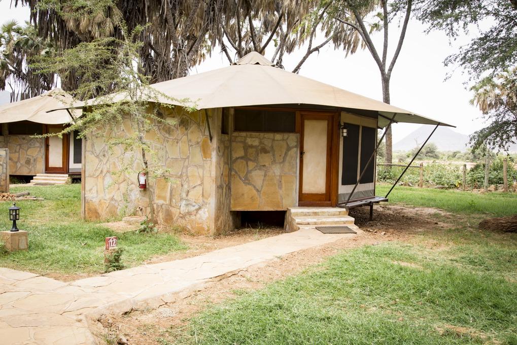 Overnatning - Samburu Kenya